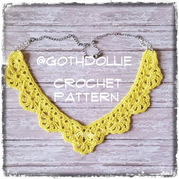 PATTERN: Victorian Choker Necklace #4 by GothDollie