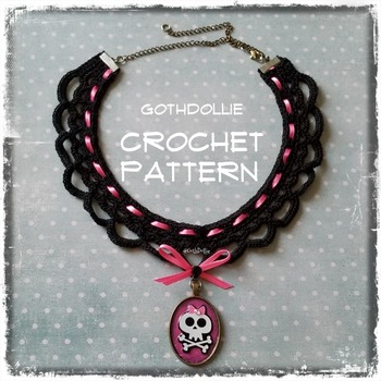 PATTERN: Victorian Choker Necklace #2 by GothDollie