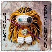 PATTERN: Zombii Dolls Amigurumi Crochet Pattern By GothDollie