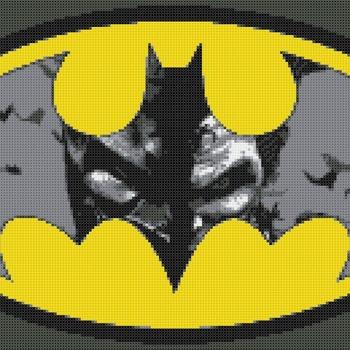 Counted Cross Stitch pattern Jocker of Batman Gotham 220*130 stitches CH1267