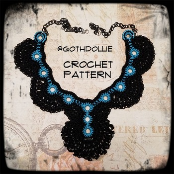 PATTERN: Coya Choker Necklace by GothDollie