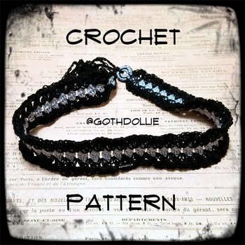 PATTERN: Pia Choker Necklace by GothDollie