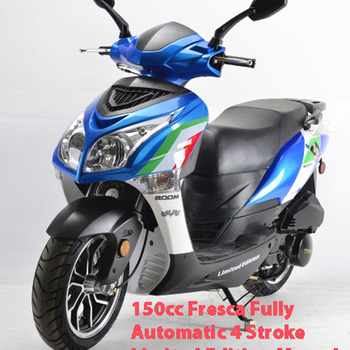 150cc Fresca Fully Automatic 4 Stroke Limited Edition Moped Scooter***LOOK***