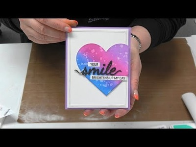 #297 What is Yasutomo Mineral Paper and how to use NEW Hero Arts Reactive Inks, Stamps & Stencils