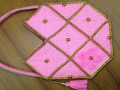Amazing Woolen Purse - DIY Purse Making - How to make woolen purse at home - Best reuse ideas