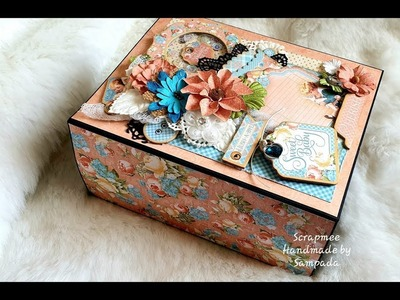 Baby Handmade Scrapbook   Graphic 45 Precious Memories Album   Best Ideas for Baby Album