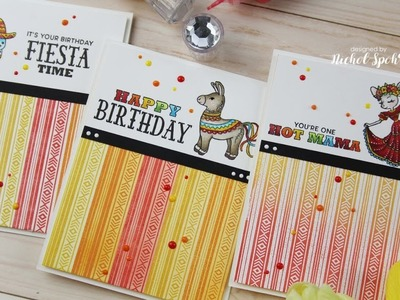 Custom Stamped Patterned Papers (3 Ways)