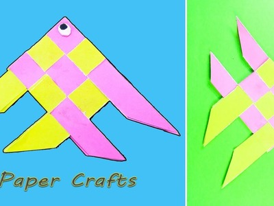 Fish ???? - Paper Folding Craft DIY | Moving Paper Fish Nemo | Paper Crafts for Kids | NK Crafts