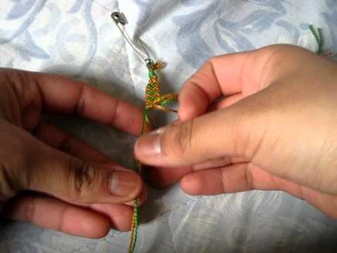 Friendship Bracelet: Heart # 2