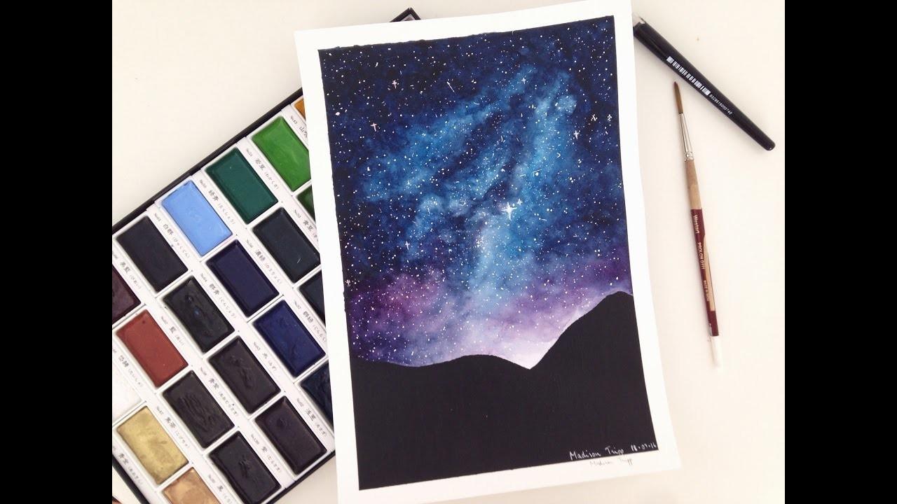 Galaxy Speed Painting | Madison Tripp |