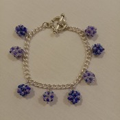 Handmade Beaded Ball Bracelet