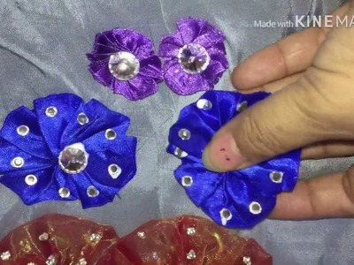 How to make a flowers at home