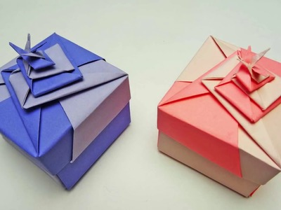 How To Make a Paper Box | Origami