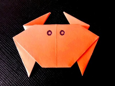 How To Make a Paper Crab – Origami animals