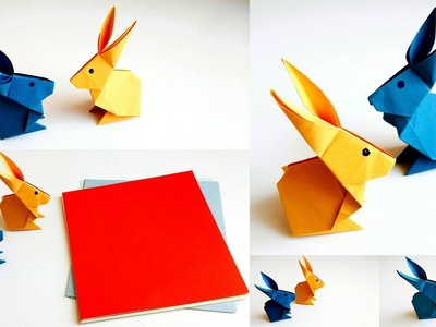How To Make a Paper Rabbit Step by Step? Easy Origami Rabbit
