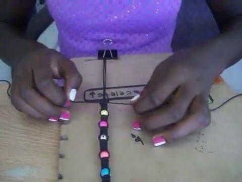 How to make hippie hemp bracelets