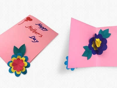 How to Make Lovely PopUp Card for Mother's Day | Paper Craft | Som's Happy Craft