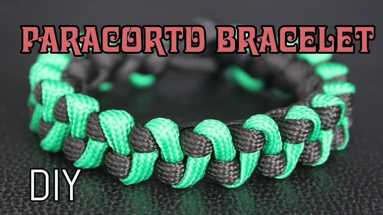 HOW TO MAKE PARACORD BRACELET #9