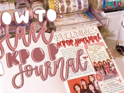 How to start a kpop journal: tips + advice! *:・゚✧ | kkinotes