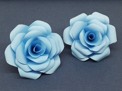 Make Beautiful Paper Roses | How to Make DIY Paper Flowers