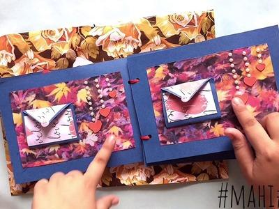 Mini scrapbook cute scrapbook design Gift ideas for birthday and anniversary  Scrapbook design
