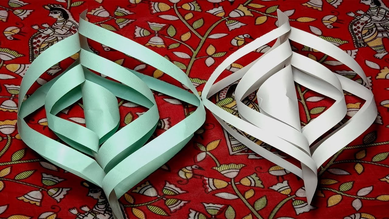 Paper Art Design. Very Easy And Simple. Paper Craft Easy. How to Make Paper craft design