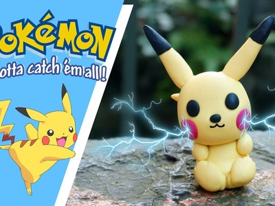 Air dry clay | How to make Pikachu 2019 - Clay Tutorial