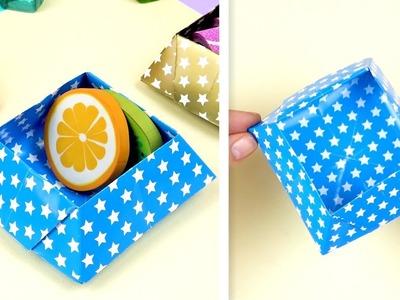 DIY paper box   How to make paper box
