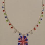 Handmade United Kingdom Octagon Pendant Necklace