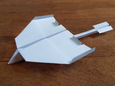 How To Fold A Paper Airplane That Flies Far   EASY TUTORIAL