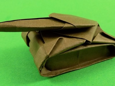 projects art and craft easy: origami tank instructions | 300x400