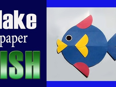 How to make Paper Fish - Paper Animals - Paper Toys - Paper crafts ( Easy step by step) 2019