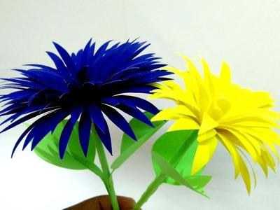 Kaagaj.kaagaz ke phool kaise banaye 11.how to make beautiful paper (craft ideas) flower