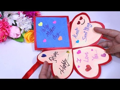Mother's day card |How to make greeting card for mother's day Handmade Mother's Day card pop up card