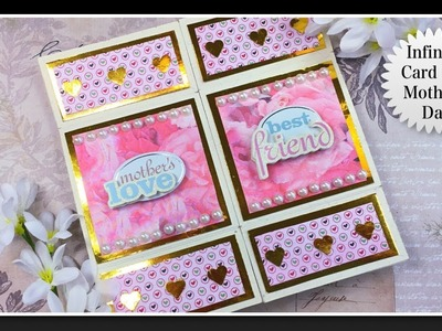 Never Ending card   Infinity Card   Endless card   How to make handmade greeting card