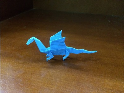 Origami Dragon - How To Make A Paper Dragon Easy step by step
