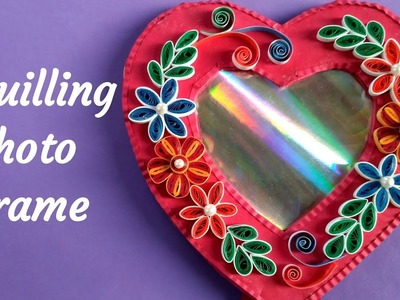 Quilled Photo Frame | How to make Quilling Photo Frame