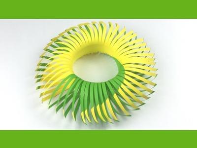 3D Paper Leaves | Paper Leaf Crown | Paper Crown | Paper Crafrts