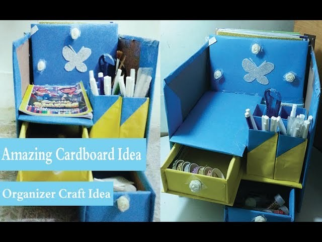 Amazing craft that You Can Make at Home! Easy Creative Idea with Cardboard Box!