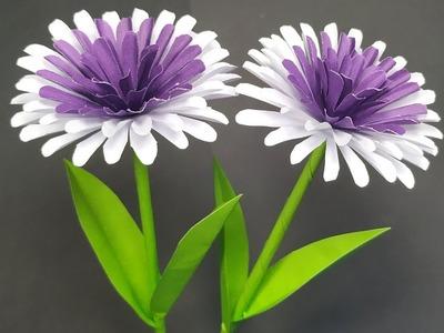 DIY Paper Beautiful Stick Flower - Easy Paper Flower Idea - Flower Making - Abigail Paper Crafts