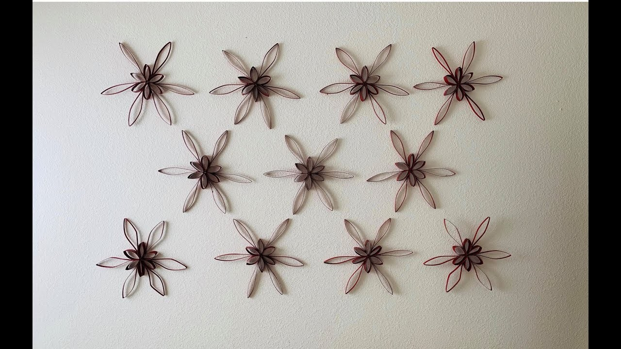 DIY: Upcycled Waste Paper Wall Art Decor