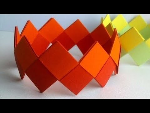 How to make a paper jewelry  breslate || Art Handwork
