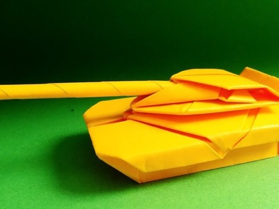 How to Make a Paper Tank - Origami tank