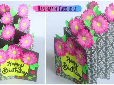 How To Make Birthday Card | DIY Cascade Card | Handmade Card Ideas