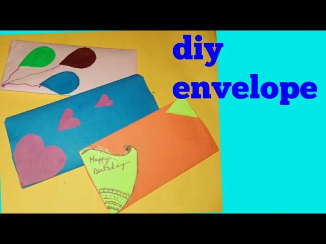 How to make  envelope  easy method #and #envelope decoration #