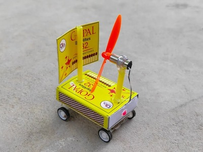 How To Make Match Box Ship Car At Home