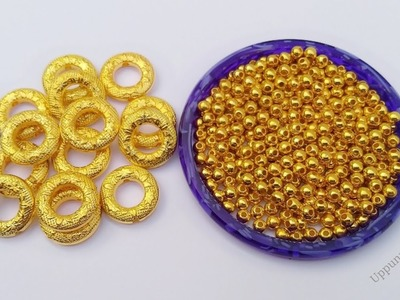 How To Make Pearl Bracelet At Home | Beaded Bracelet | Friendship Bracelets | uppunutihome