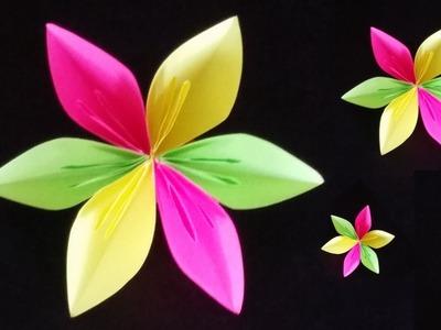 Manualidades de Papel: DIY Flor de Papel | Paper Gift Ideas: DIY Paper Flower