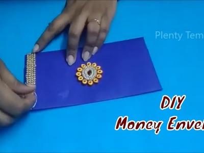 Money envelope making at home.Money envelope tutorial.Paper quilling envelope.PlentyTempty(Tutorial)
