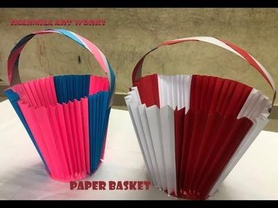 Origami - Paper Craft - Basket - Crafts for Kids
